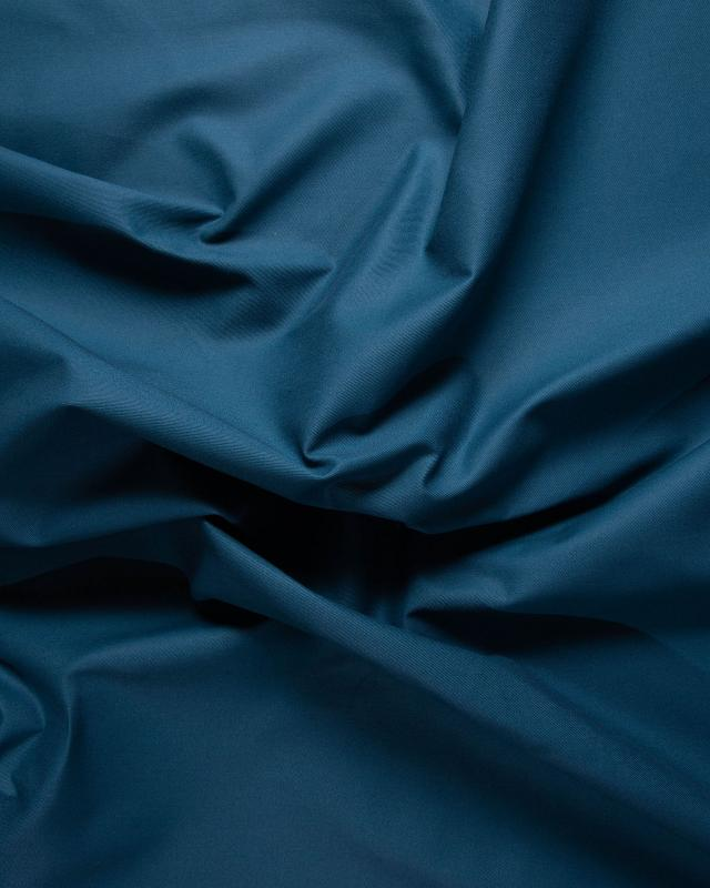 Gabardine Bleu Canard - Tissushop