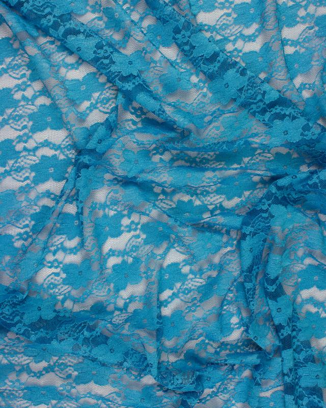 Sofia Lace Turquoise Blue - Tissushop