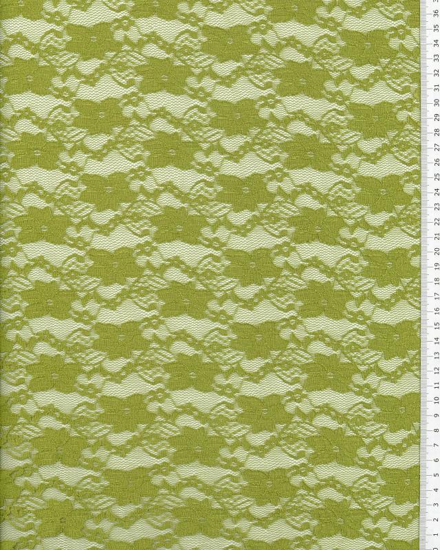 Sofia Lace Spring Green - Tissushop