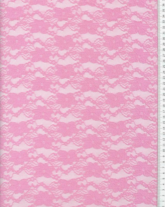 Sofia Lace Pink - Tissushop