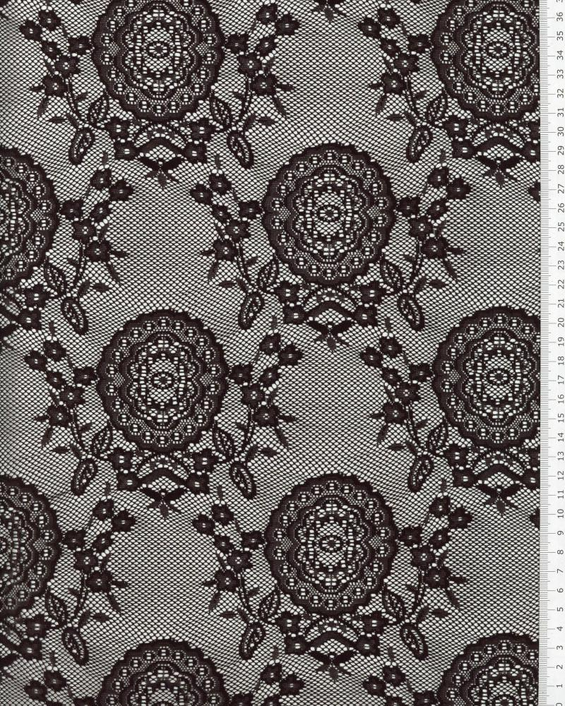 Carmen lace Black - Tissushop