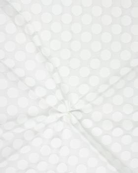 Dentelle pois Blanc - Tissushop