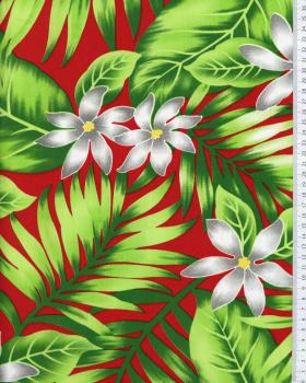 Polynesian Fabric ANAPA Bordeaux - Tissushop