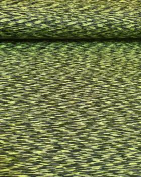 Jersey stretch Abstrait Vert Fluo - Tissushop