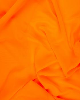 Mousseline Orange Fluo - Tissushop