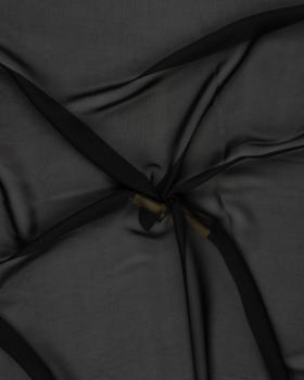 Mousseline Noir - Tissushop