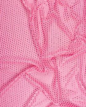 Round Glitter Fabric Light Pink - Tissushop