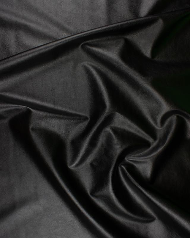 Simili Cuir Noir - Tissushop