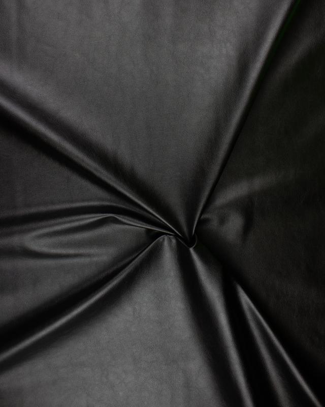 Imitation Leather Black - Tissushop