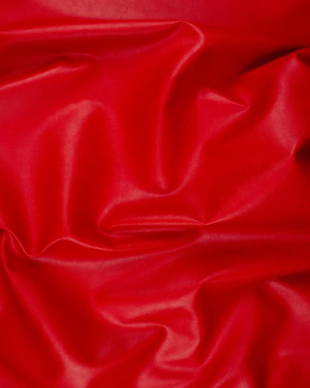 Imitation Leather Red - Tissushop