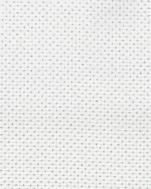 Shiny imitation Leather White - Tissushop