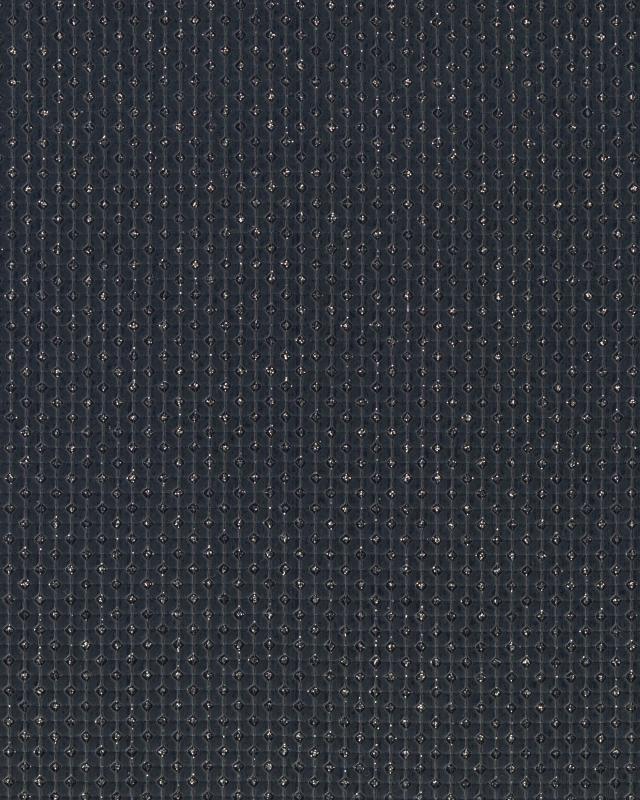 Shiny imitation Leather Black - Tissushop