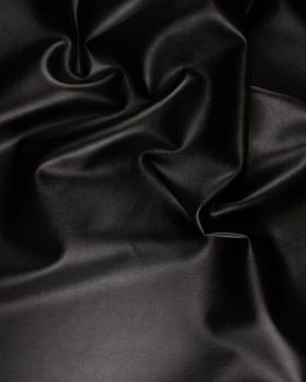Imitation Leather Medium Grain Black - Tissushop