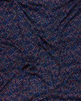 Viscose Striped Pebbles - Tissushop