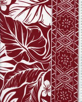 Polynesian Fabric ATERA Brown - Tissushop