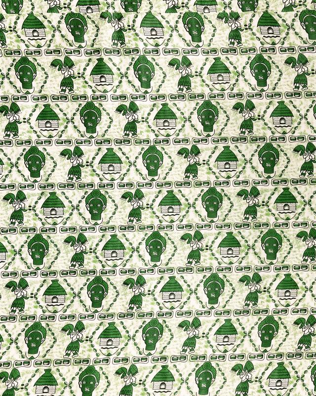 Real Wax - African Fabric Windhoek Green - Tissushop