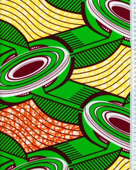 Super Wax - Tissu Africain - Lusaka - Tissushop