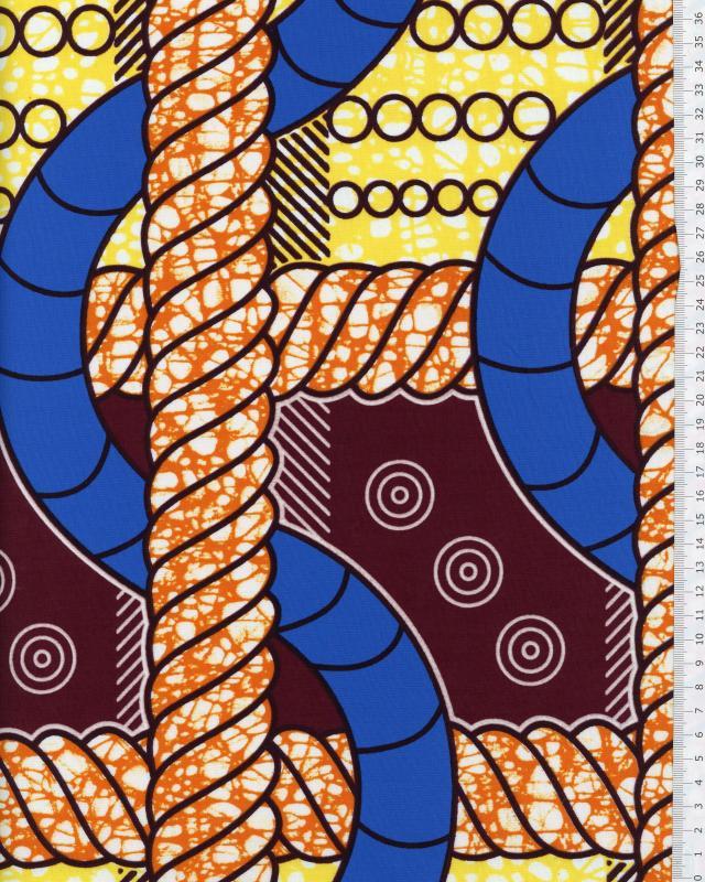 Super Wax- African Fabric - Bangui - Tissushop