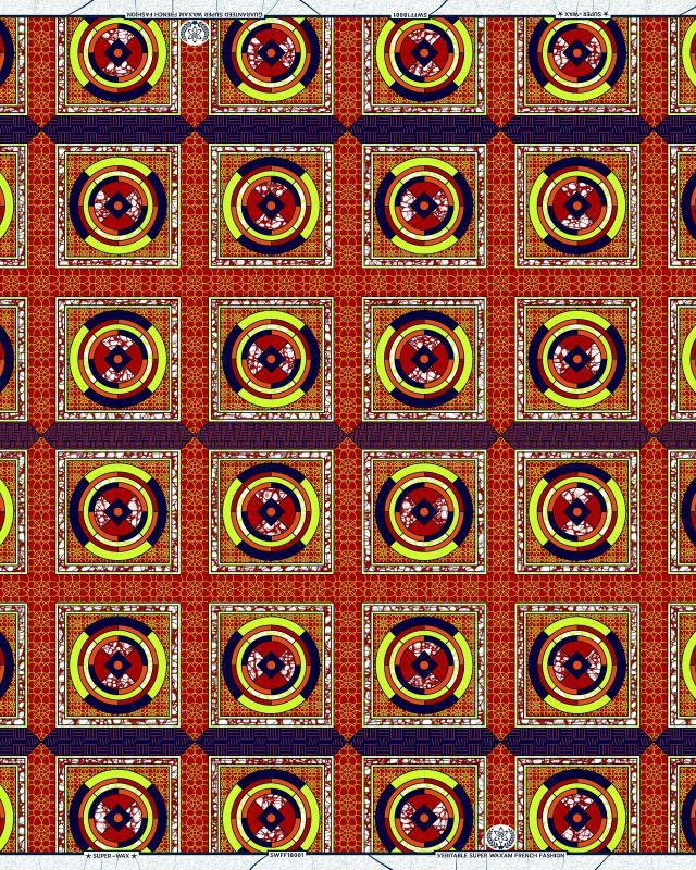 Super Wax - African Fabric - Bamako - Tissushop