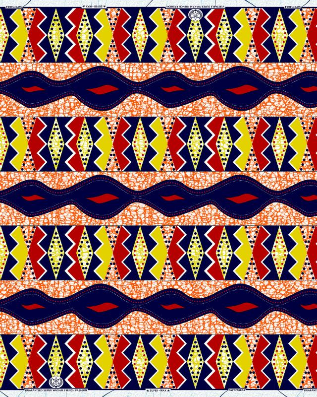 Super Wax - African Fabric Dakar - Tissushop
