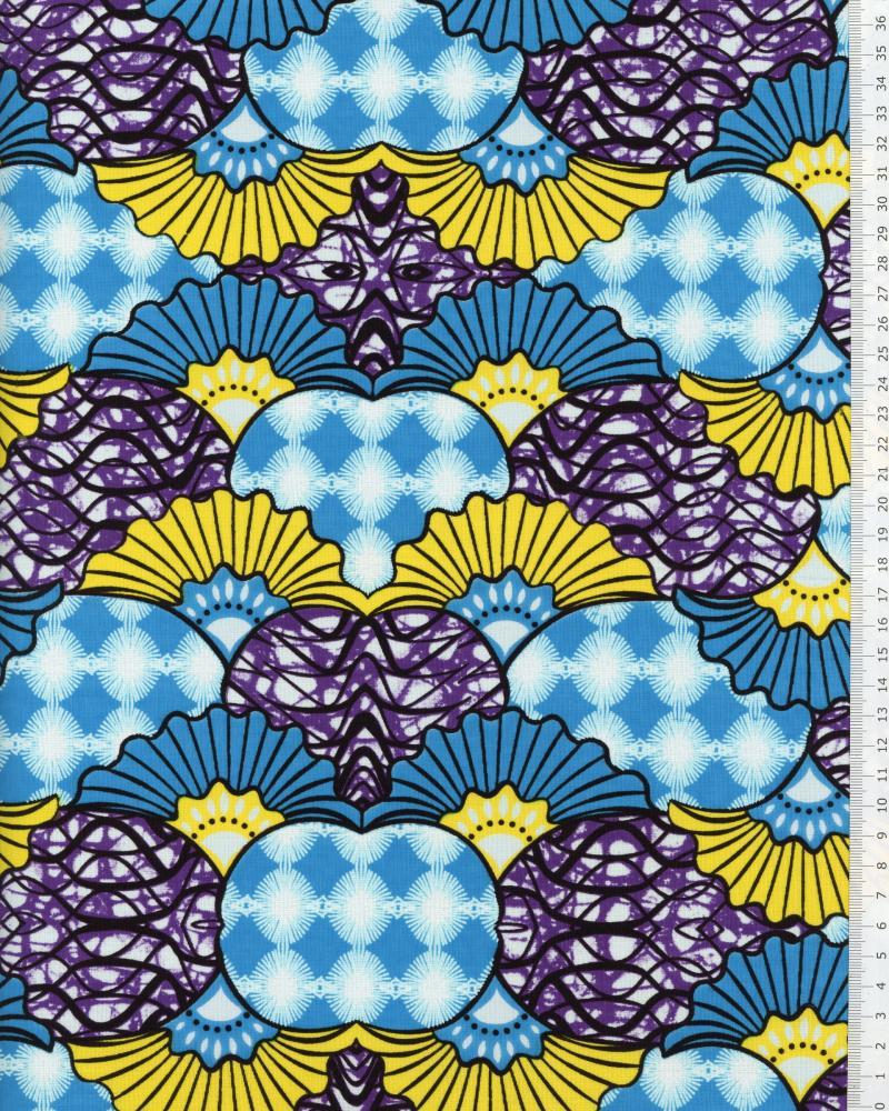Super Wax - Tissu Africain Lobamba - Tissushop