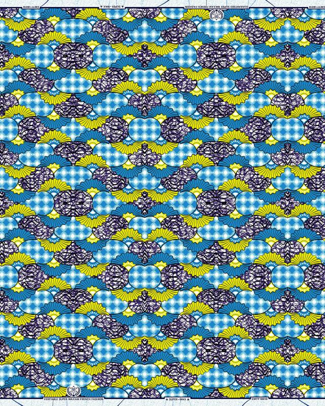 Super Wax - African Fabric Lobamba - Tissushop