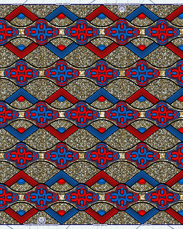 Super Wax - African Fabric Accra - Tissushop