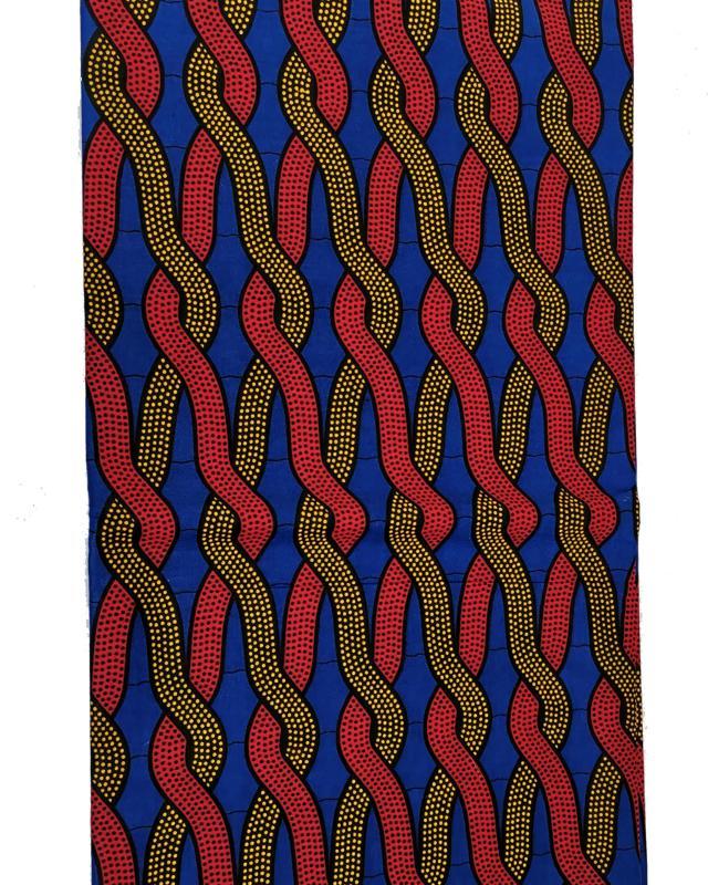 Wax print julius Holland RW1494 Rouge - Tissushop