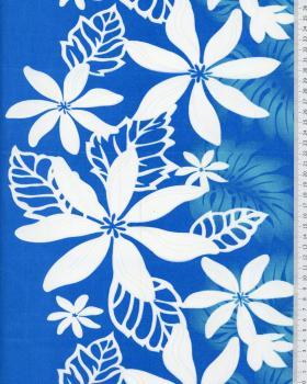 Polynesian Fabric MOERE Blue - Tissushop