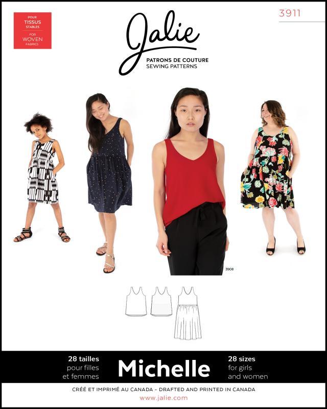 Sewing pattern - JALIE 3911 Michelle - Tissushop