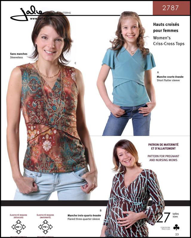 Sewing pattern - JALIE 2787 - Tissushop
