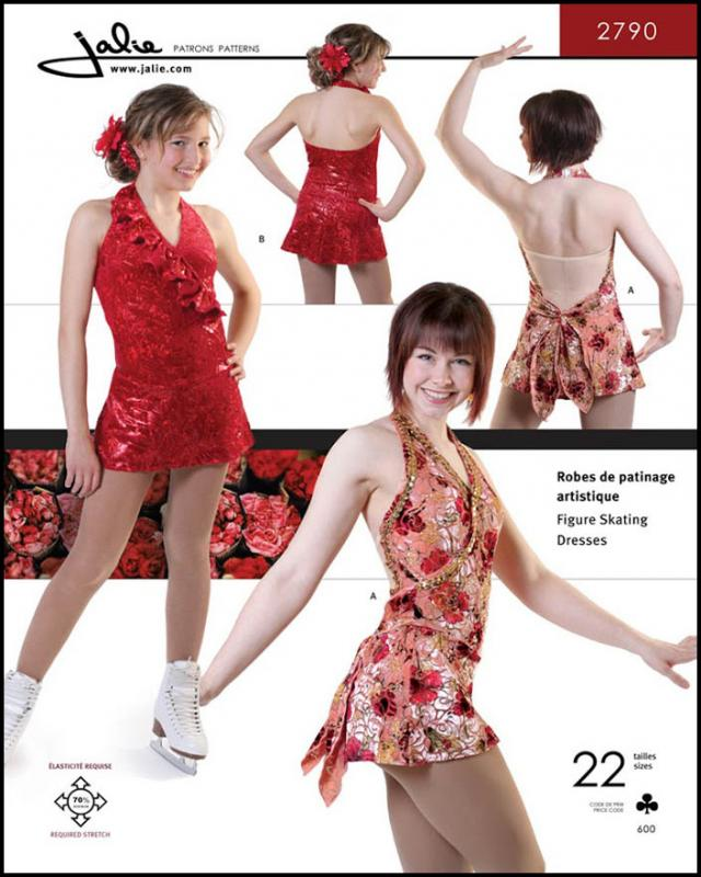 Sewing pattern - JALIE 2790 Crossover halter - Tissushop