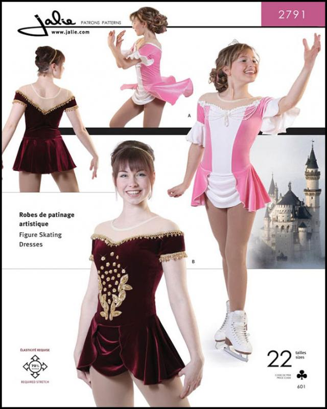 Sewing pattern - JALIE 2791 Princess - Tissushop