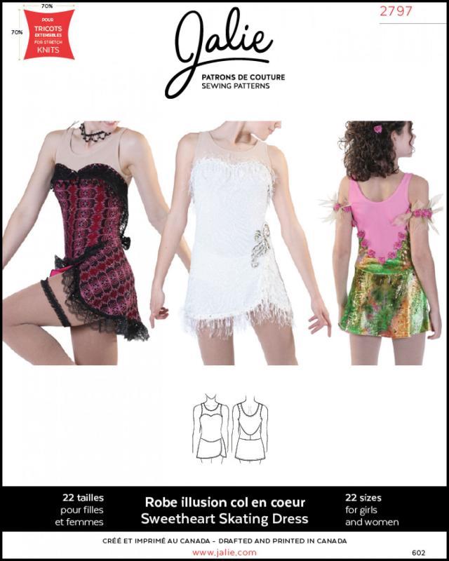 Patron de couture - JALIE 2797 - Tissushop