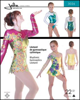 Sewing pattern - JALIE 3026 Rhytmic gymnastics leotard - Tissushop