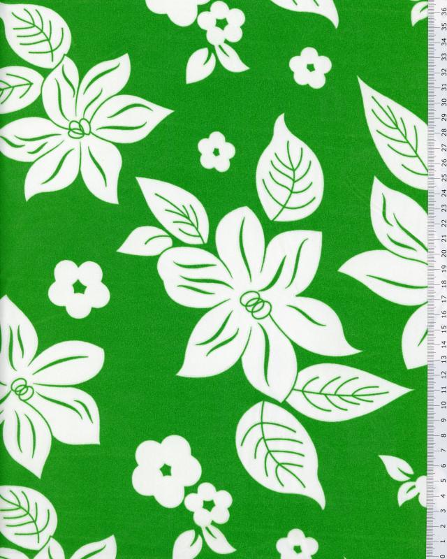 Polynesian Fabric NANIHI Green - Tissushop