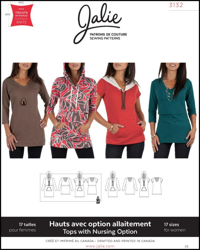 Sewing pattern - JALIE 3132 - Tissushop