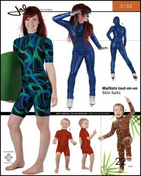 Sewing pattern - JALIE 3135 Skinsuits - Tissushop