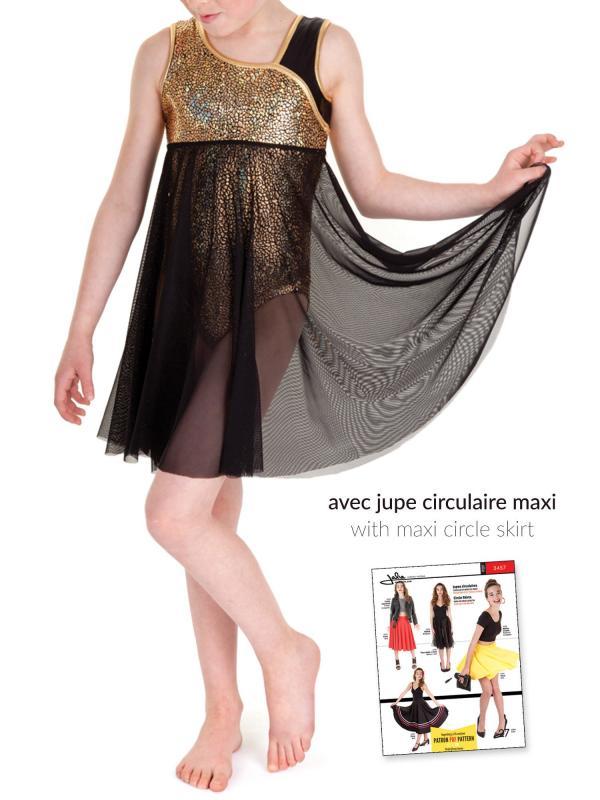 Patron de couture - JALIE 3354 - Tissushop