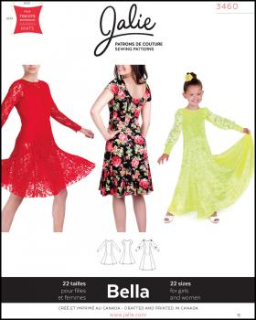 Sewing pattern - JALIE 3460 Bella - Tissushop