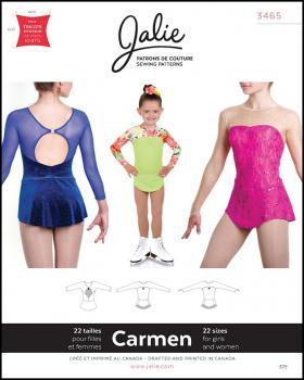 Patron de couture - JALIE 3465 Carmen - Tissushop