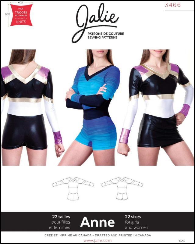 Sewing pattern - JALIE 3466 Anne - Tissushop