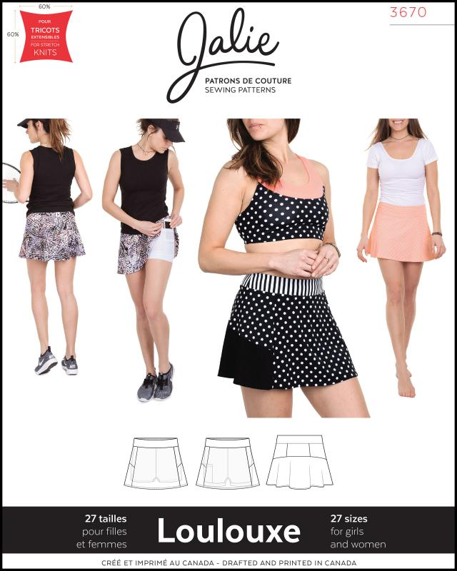 Sewing pattern - JALIE 3670 Loulouxe - Tissushop