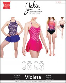Sewing pattern - JALIE 3673 Violeta - Tissushop