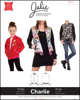 Sewing pattern - JALIE 3675 Charlie - Tissushop