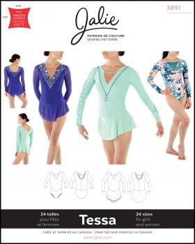 Sewing pattern - JALIE 3891 Tessa - Tissushop