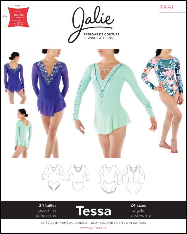 Patron de couture - JALIE 3891 Tessa - Tissushop