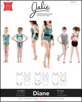 Sewing pattern - JALIE 3893 Diane - Tissushop