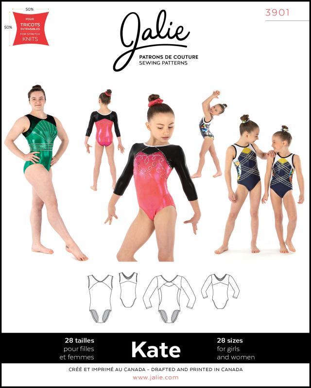 Patron de couture - JALIE 3901 Kate - Tissushop