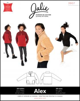 Sewing pattern - JALIE 3907 Alex - Tissushop